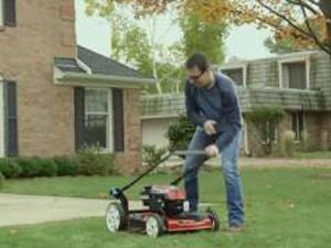 La nuova tecnologia Mow N'Stow