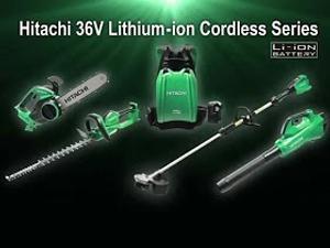 Hitachi Serie Cordless 36V con batterie al litio