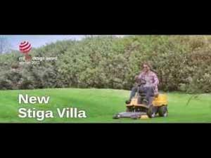 Spot trattorino Stiga Villa