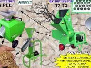 Biotrituratore pellettatrice - Peruzzo 2 HD