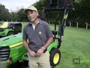 John Deere, test drive a Demogarden 2014