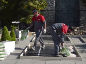 Come posare il pavimento in gres porcellanato su ghiaia