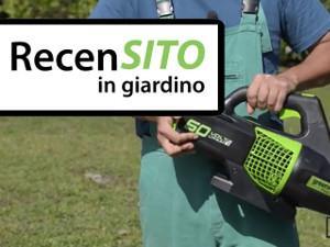 Prova soffiatore a batteria Greenworks