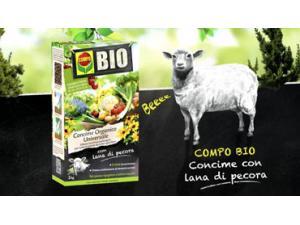Concime biologico con lana di pecora