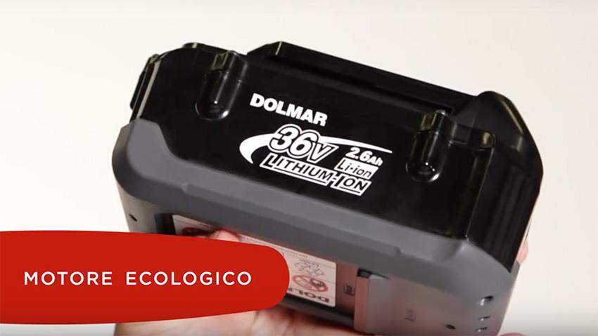 Dolmar: nuovo sistema di lavoro con batteria al litio