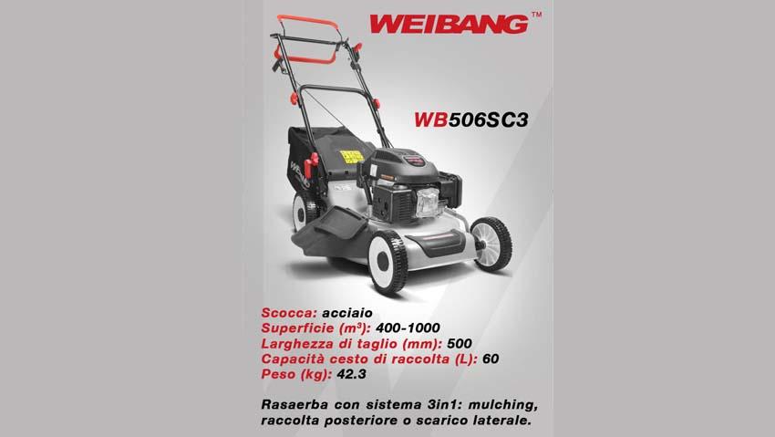 Rasaerba Weibang, macchine di alta qualità