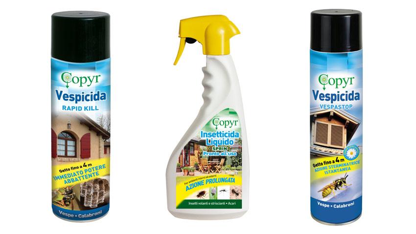 Come liberare il giardino da vespe, mosche, zanzare