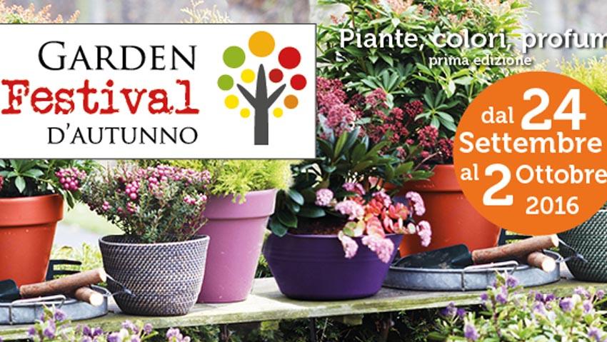 Garden festival d'autunno, un nuovo evento nei centri giardinaggio