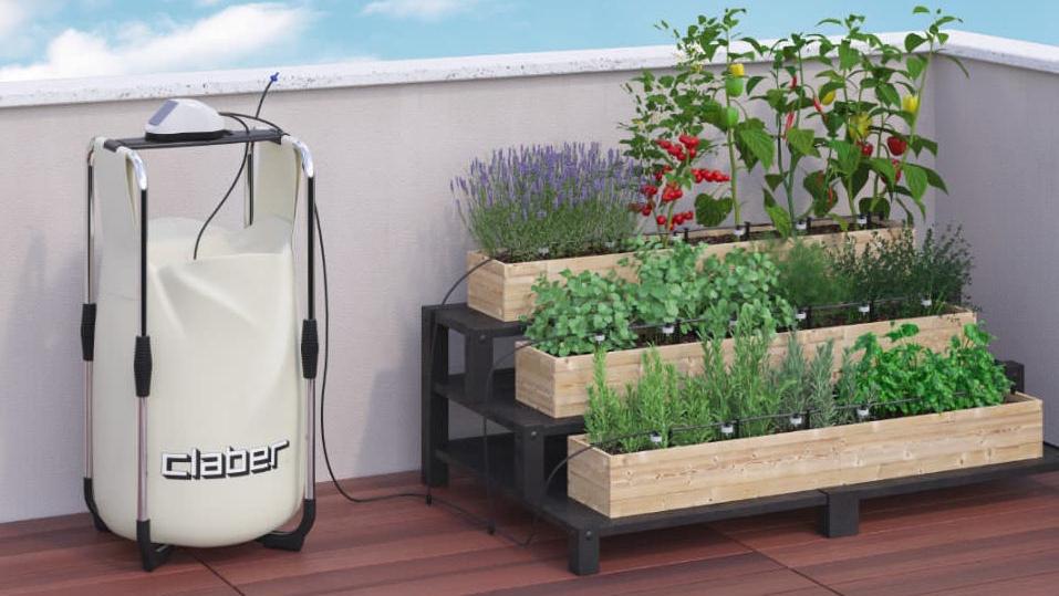 irrigazione automatica anche per terrazzi e orti pensili