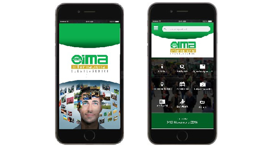 La app ufficiale di Eima International 2016