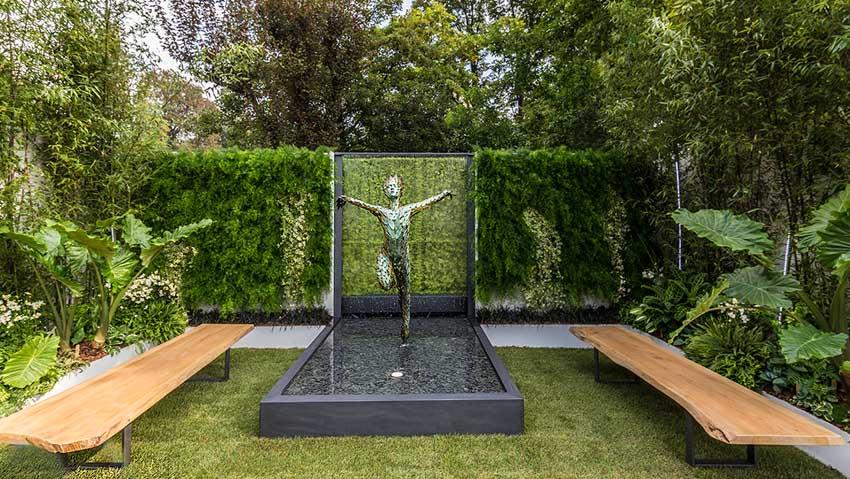 Il giardino vincitore del premio di Orticolario