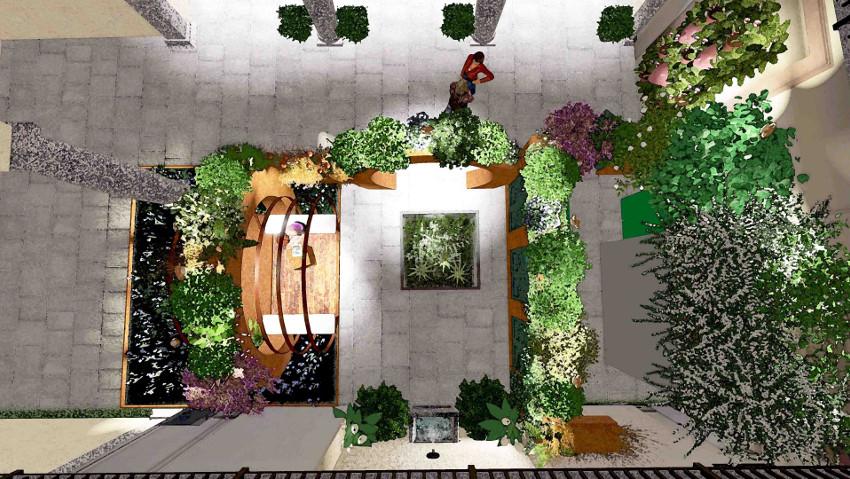 Un giardino sospeso e incontri sul verde a Milano