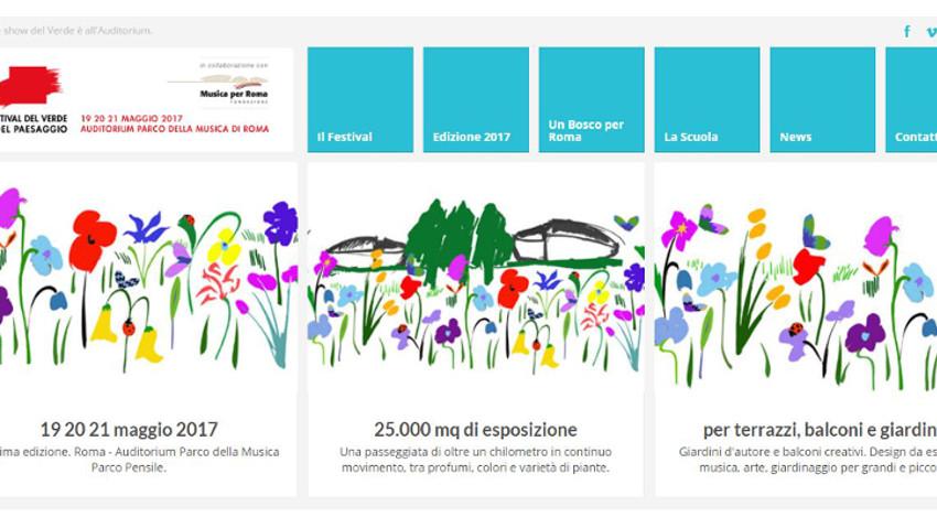 Il Festival del Verde e del Paesaggio di Roma