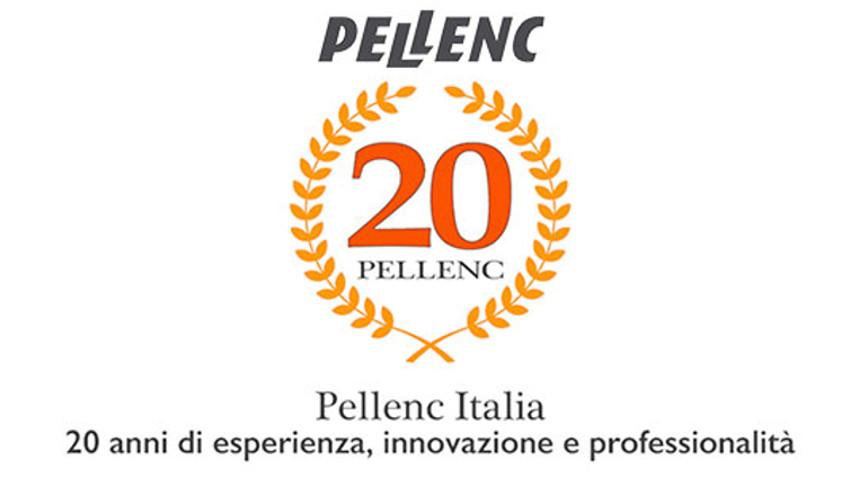 I 20 anni di Pellenc Italia