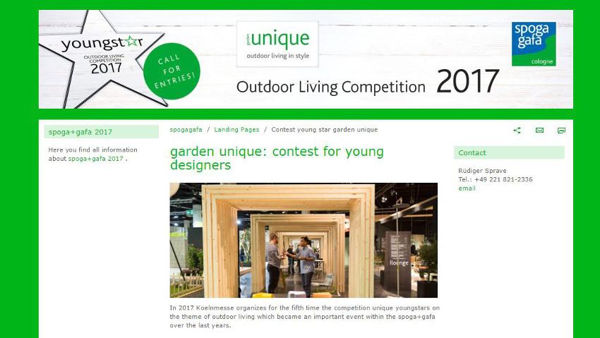 Il concorso per giovani garden designer