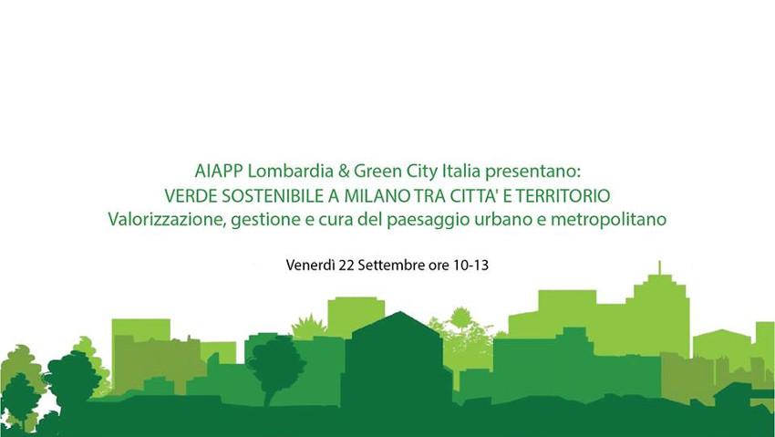 Valorizzare il verde urbano, un convegno a Milano