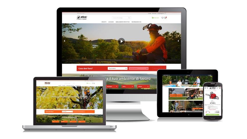 Emak punta sul web con l'e-commerce e nuovo sito