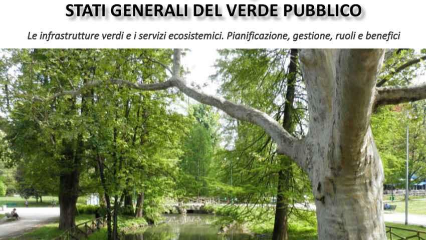 Il programma degli Stati Generali del Verde Pubblico