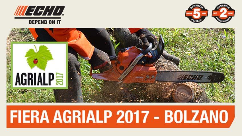 Echo ad Agrialp 2017, Bolzano