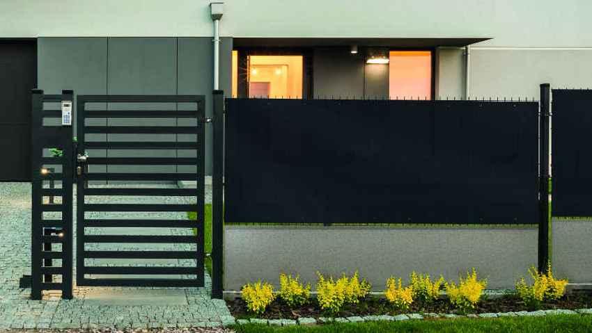 Schermare e proteggere il giardino con stile