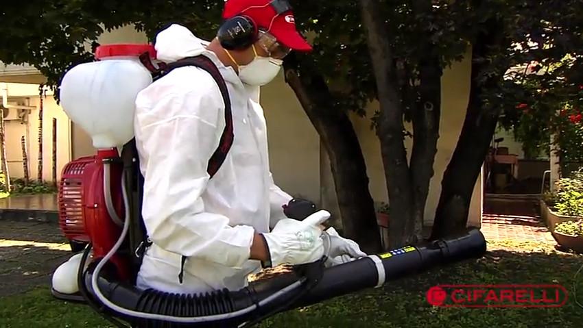 Atomizzatori: come pulire serbatoio e pompa