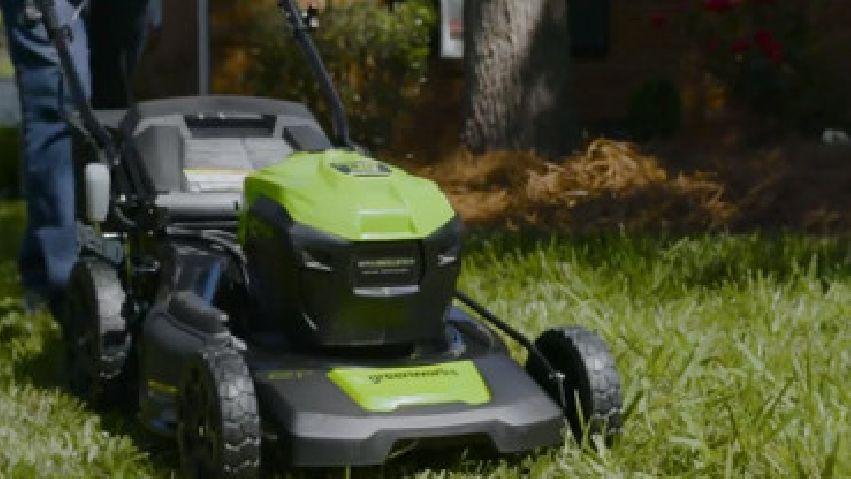 Tagliaerba Greenworks a batteria da 40V