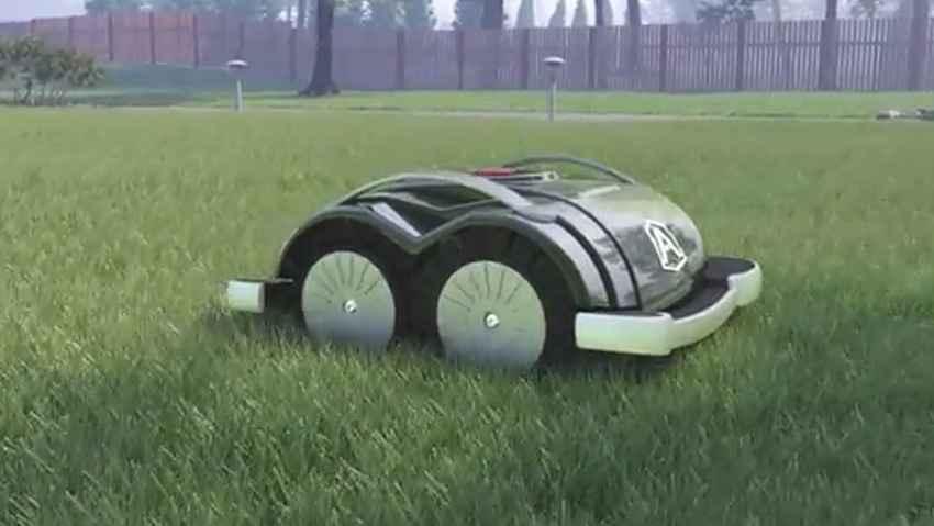 Il robot rasaerba pronto all'uso senza installazione
