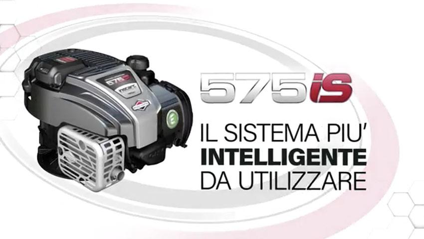 575iS InStart con sistema di avviamento a pulsante