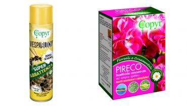 Soluzioni contro parassiti, vespe e calabroni