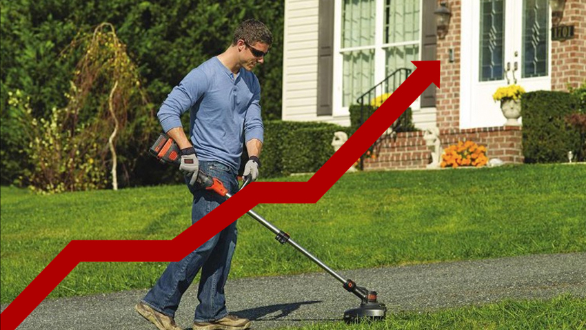 Vendite macchine da giardino: dati 1° semestre 2018