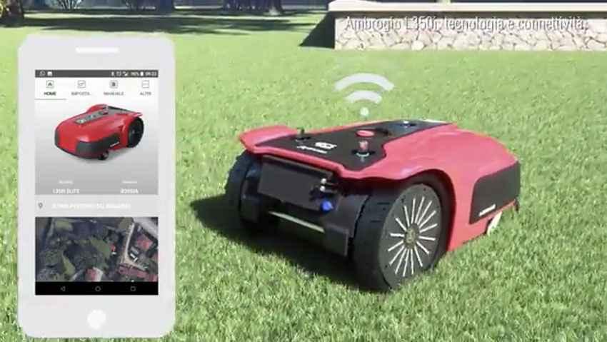 Ambrogio L350, tecnologia e connettività