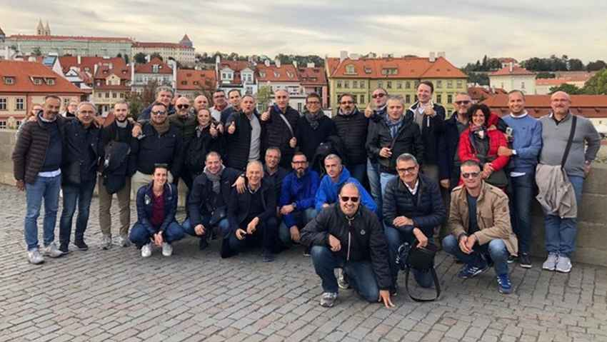 Il team sale & marketing di Compo a Praga