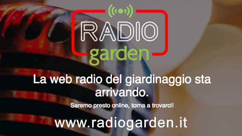 Sta arrivando Radio Garden!