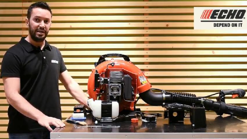 Come fare la manutenzione del soffiatore a zaino