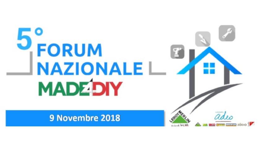 Made4DIY, il programma della quinta edizione