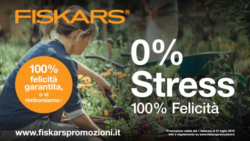 Prodotti Fiskars 'in prova' per 100 giorni