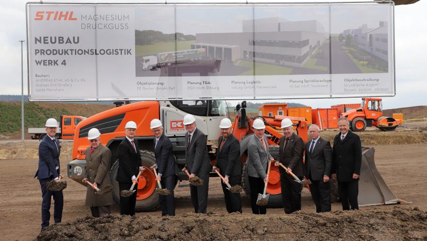Stihl amplia l'impianto in Renania e assume
