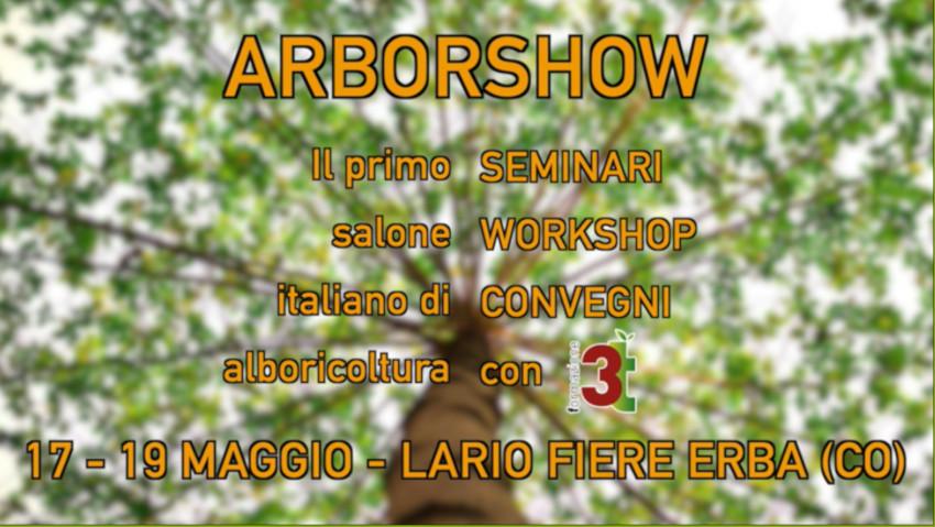 ArborShow, la prima fiera italiana di arboricoltura