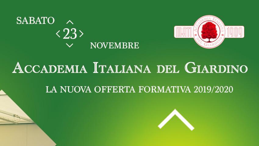 Open day all'Accademia Italiana del Giardino