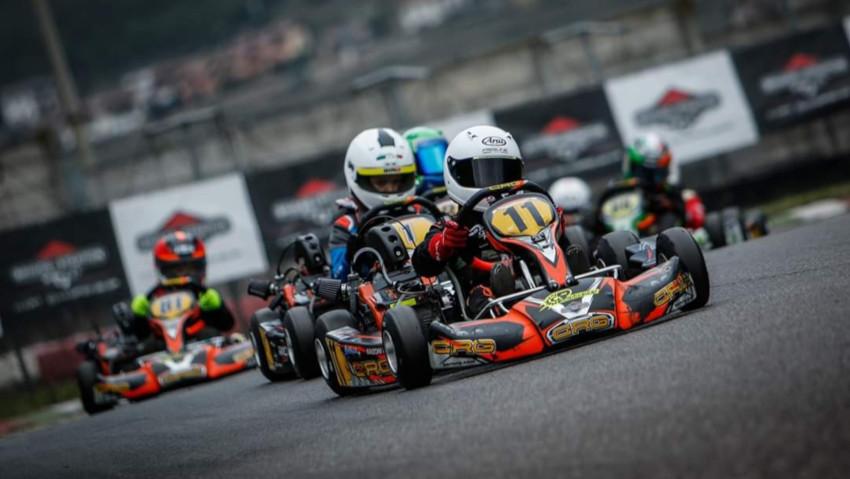 Briggs a tutta velocità con la Kart Championship