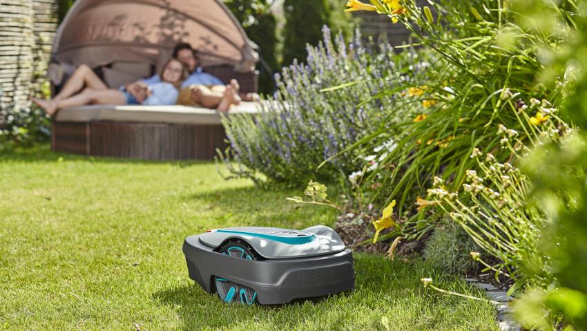 Robot tagliaerba per ogni tipo di giardino