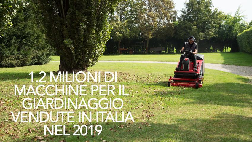 Macchine da giardino: le più vendute del 2019