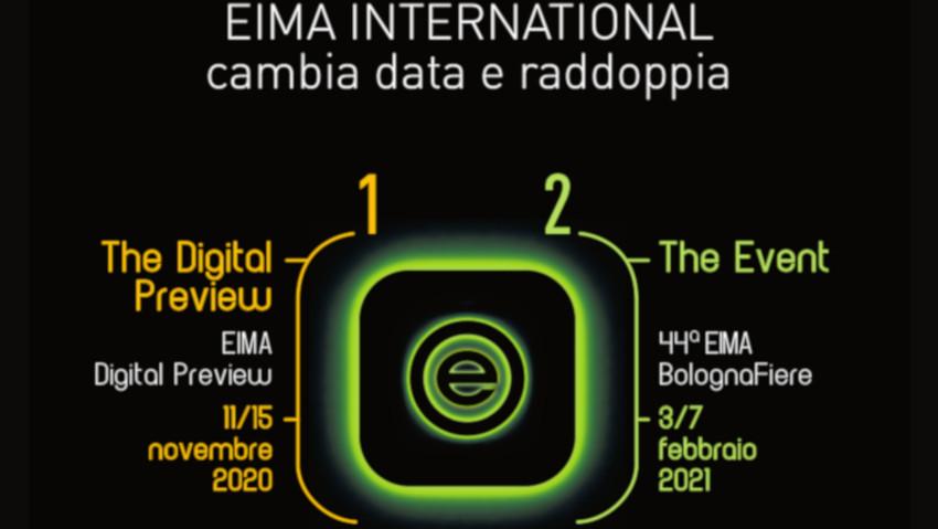 Anche Eima rimandata al 2021