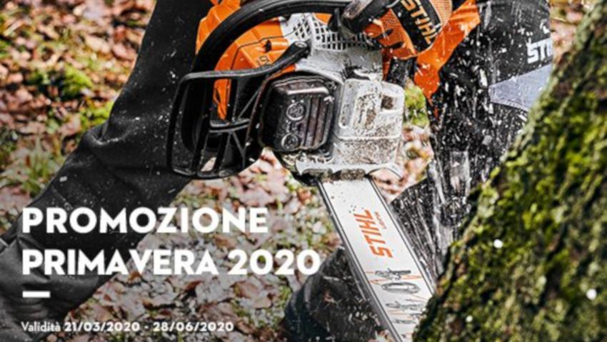 Promozione primavera Stihl 2020