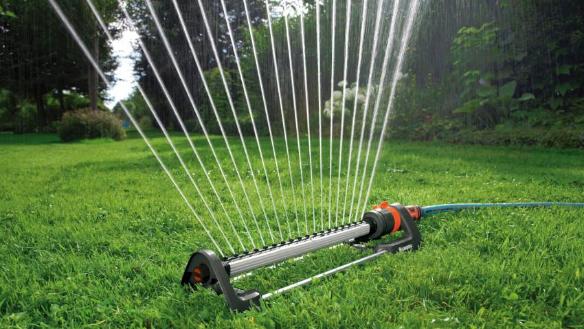 Irrigatori oscillanti per ogni tipo di giardino