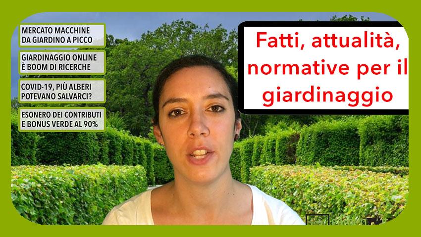 Cronaca Verde, il TG del giardinaggio