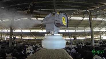 Nebulizzatore elettrico rotante ULV a freddo