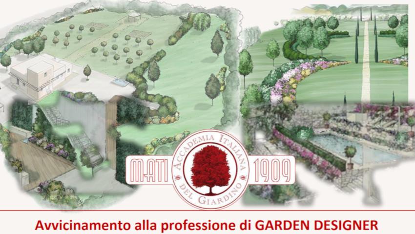 Professione garden designer: corso online