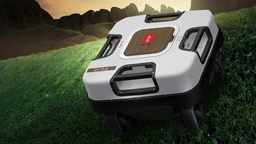 Il robot tagliaerba che non teme le salite