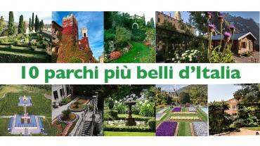 10 parchi più belli d'Italia da visitare